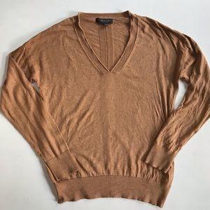 Banana Republic silk cashmere V neck sweater- S